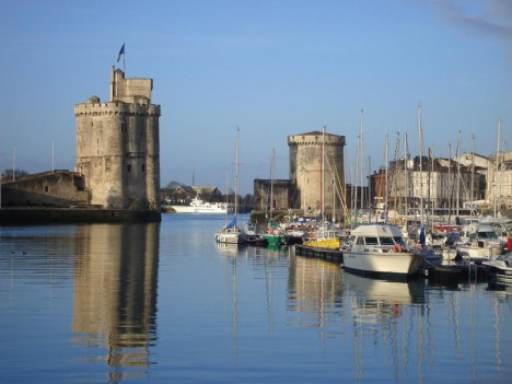 la Rochelle, old port