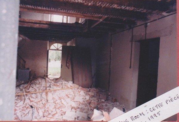 rubble in hall 001