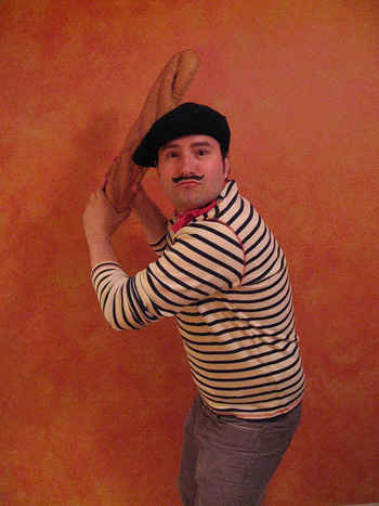 french beret-man