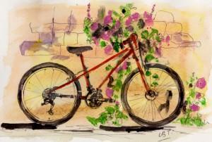 red bike 001
