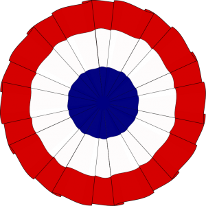 flag-cockade