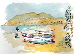 beach Cap Verde