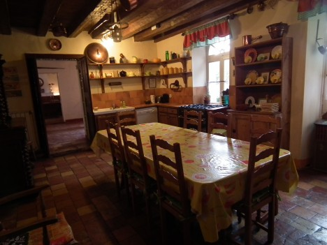 kitchen at Rochebonne